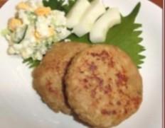 【給食応援】「Tチキン ハンバーグ レバー入り」3kg(60g×50個入り) ※冷凍