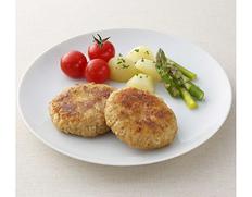 【給食応援】『国産鶏のハンバーグ』3kg 1袋(60g×50個入り) ※冷凍