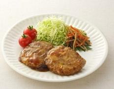 【給食応援】「キャベツ入平つくねソース味」100個セット 5kg(50g×10個入×10パック) ※冷凍