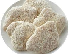 【給食応援】「ポテトとお米のささみカツ」2kg(1個40g×50個) ※冷凍