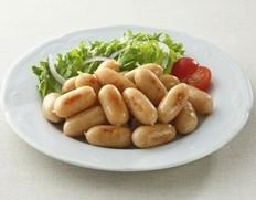 【給食応援】「荒挽きミニカクテルウインナー」 2kg(1kg×2袋) ※冷凍