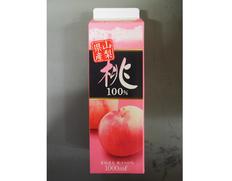4/8以降順次出荷 【給食応援】桃100%ジュース 6本(1本:1L) ※常温