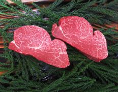 送料無料キャンペーン中! 飛騨牛 最高等級 5等級 ヒレ肉(テート)ステーキ 2枚(計320g)※冷凍