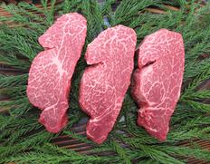 父の日送料無料キャンペーン! 飛騨牛 最高等級 5等級 ヒレ肉(テート)ステーキ 3枚(計480g)※冷凍