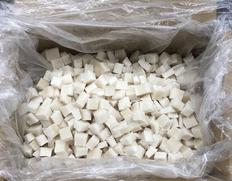 4/20以降順次出荷 【給食応援】ペルー産いか角切 10kg(5kg×2袋) ※冷凍