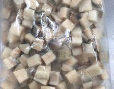 【給食応援】アラスカ産 タラ角切り 1kg×1袋 ※冷凍