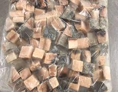 【給食応援】「ニュージーランド産 アジ角切り」 1kg×1袋 ※冷凍