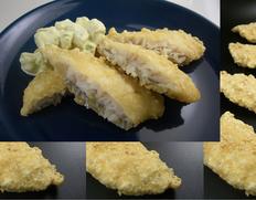 【給食応援】ホキ天ぷら 6kg(1個:60g 100個入り)※冷凍