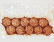 【給食応援】国産鶏のハンバーグN照焼味 30個(10個×3パック/真空) ※冷凍