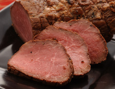 飛騨牛もも肉使用!特製ローストビーフ 250gUP ※冷凍 《父の日ギフト》