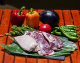 【在庫過多】『フランス鴨(バルバリー種)のロース肉』オス・メス混合 計約1kg(3〜4枚)青森県産 ※冷凍の商品画像