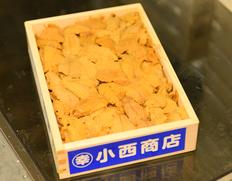 豊洲市場 キタムラサキウニ