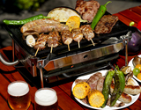 Snow Peak BBQ Bセット+『全5回分の食材(ハンバーガー・ソーセージ・海鮮・エゾ鹿肉・ラム)』(約4人前)の商品画像