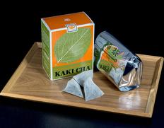 【定期購入】「柿茶R(柿の葉茶)」四国産 1L用ティーパック 4g×28袋