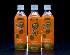 【定期購入】「柿茶R(柿の葉茶)」四国産 ペットボトル500ml×24本