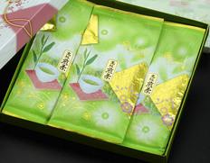 『手摘高級煎茶』 静岡県 100g×3本 箱入り包装 ※常温 【◆】