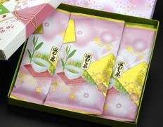 『掛川の深蒸し緑茶』 静岡県 100g×3本 箱入り包装 ※常温 【◆】