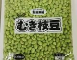 【食べて応援】北海道産むき枝豆 2kg(1kg×2袋) ※冷凍の商品画像