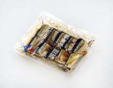 5/17〜29出荷 【食べて応援】サンマかぼすレモン煮 10切入(1切40〜50g)×2P ※冷凍