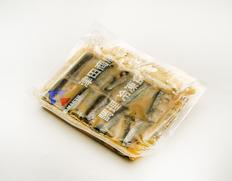 5/17〜29出荷 【食べて応援】サンマゆず味噌煮 10切入(1切30〜40g)×2P ※冷凍