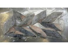 5/17〜29出荷 【食べて応援】長崎県産 ハガツオ切身  1kg(50g×10枚×2袋) ※冷凍
