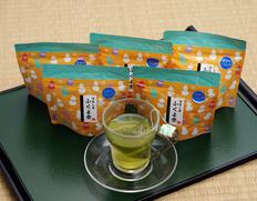 いしだ茶屋『森の深蒸し茶 ふくよ香』(ティーバッグ)静岡県森町産 和チャック袋5袋(1袋:3g×11個) ※常温【◆】