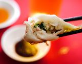 『一味玲玲の手包みシソ餃子』自家製タレ、調理リーフレット付 約600g (10個×2袋)※冷凍の商品画像