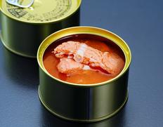 『海峡サーモン使用 鮭の中骨缶(水煮)』180g×3缶 簡易包装 ※常温