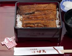 小伴天『うなぎ炭火焼(蒲焼き1尾)』愛知県一色産新仔鰻使用 ※冷蔵