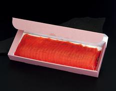 カムチャッカ産紅鮭使用!冷燻仕上げのスモークサーモン 約300g(スライス済み) ※冷凍