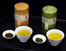 いしだ茶屋 静岡県産『初摘み・ふくよ香』各200g缶入り ※常温【◆】