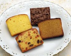 アルノー・ラエールの焼き菓子詰め合わせ『ケーク フリュイ/シトロン/ジャンドゥジャ/キャラメル』各2個 ※常温