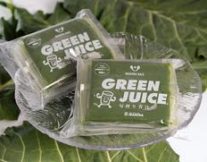 『旬搾り青汁グリーンジュース』静岡県産ケール使用 5パック×6袋(1袋:90ml)※冷凍【●】