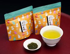 いしだ茶屋『森の深蒸し茶 ふくよ香』(茶葉)静岡県森町産 和チャック袋 50g×2袋 ※常温