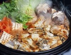 かき船 かなわ『かきの土手鍋セット』 3〜4人前(むき身200g×2P、かきの土手味噌300g)※冷蔵