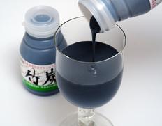 【栗駒フーズ】竹炭ヨーグルト 150ml×10本セット 生乳使用、食用竹炭入り ※冷蔵