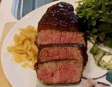 飛騨牛5等級『厚さ重視のヒレステーキ』1枚 約200g ※冷凍