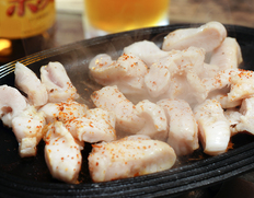 【焼肉・もつ鍋用】岐阜県産牛 『ムキミノ(第1の胃) 約500g』 ※冷凍