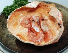 『カニ屋が作る 海のグラタン 甘海老』1個約200g ※冷凍