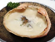 『カニ屋が作る 海のグラタン 岩牡蠣』1個約200g ※冷凍