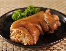 鹿児島ますや『黒豚豚足醤油煮』 1パック(200gUP) ※冷凍