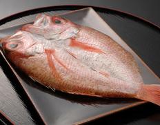 『のど黒 熟成一汐 (大)』 日本海山陰西部産 原魚約300g(干しあがり約210g)5枚 ※冷凍