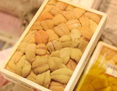 9/6〜11出荷◇ 『キタムラサキウニ』弁当箱(バラA品) 北海道・三陸産 約250g ※冷蔵 y