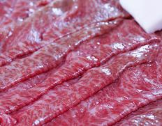 飛騨牛5等級『霜降りもも肉<イチボ> すき焼き用』300g ※冷蔵