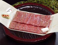 飛騨牛5等級『霜降りもも肉<イチボ> すき焼き用』500g ※冷蔵