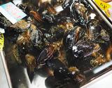 『活 ムール貝』青森県産 大サイズ 約1kg(50g〜100g/個) ※冷蔵 sの商品画像