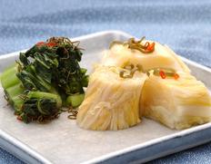 『熟成白菜漬と広島菜 詰合せ』 (各300g×3) ※冷蔵