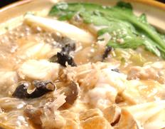 『大洗のあんこう鍋セット(湯引き済)』  茨城県または北海道産 6人前 ※冷蔵