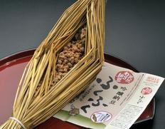 天然わら納豆 ふくふく 藁つと納豆 300g×2本