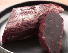 ミンク鯨の「赤身」 約200g ※冷凍